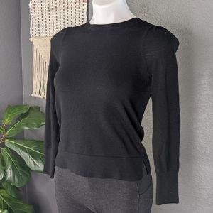 LOFT XS Petite Black Sweater